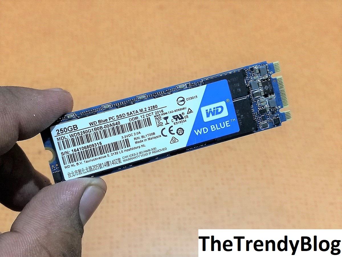 WD M.2 250GB SSD
