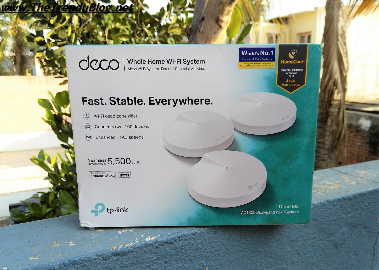 TP-Link Deco M5 Mesh WiFI System