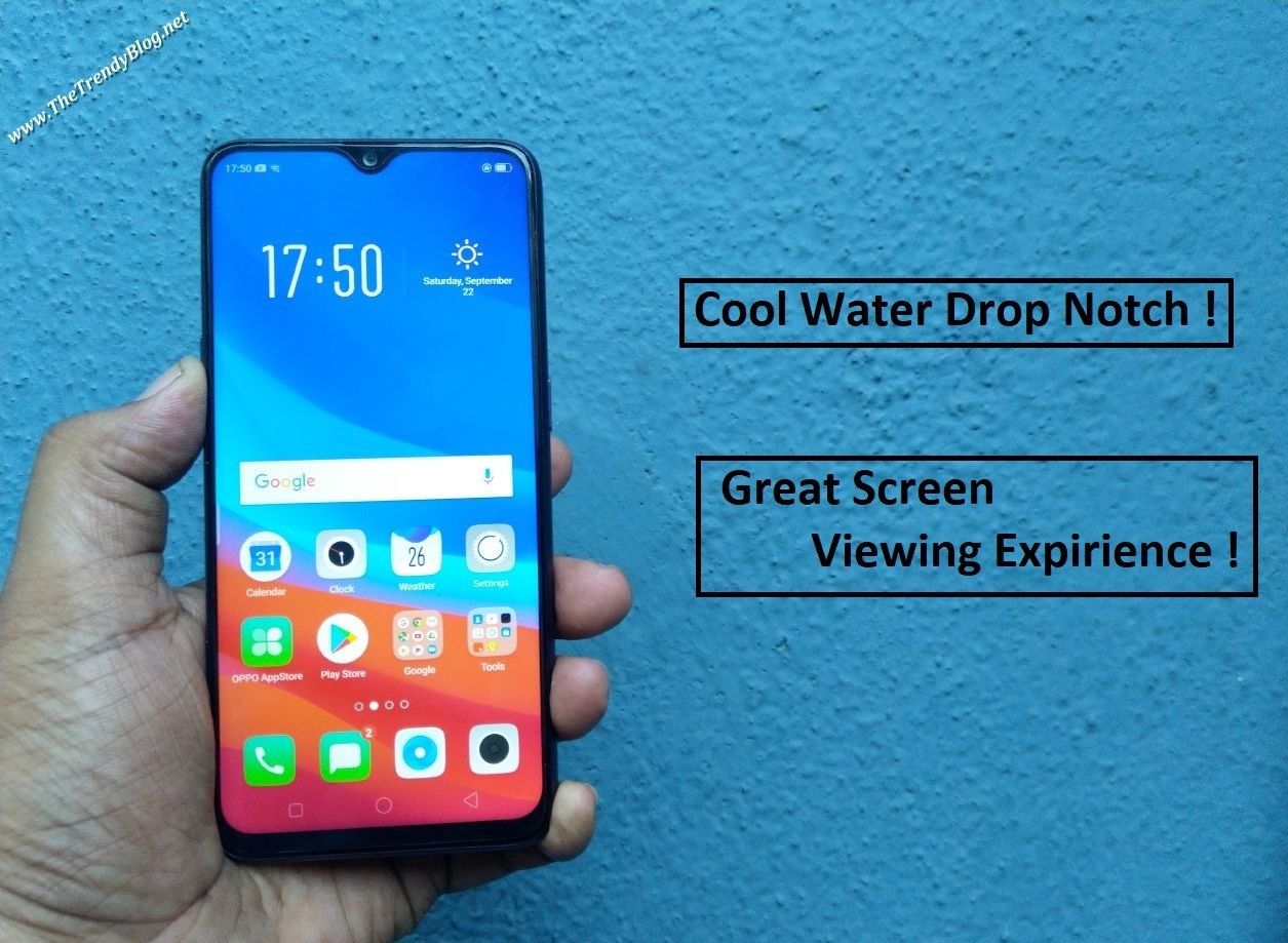 OPPO F9 Review - Pretty Good For Media Consumption & Gaming ! - The Trendy  Blog