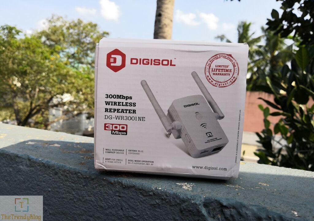 DIGISOL DG-WR3001NE WiFI Extender