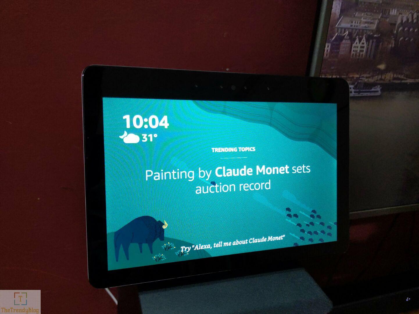 Amazon Echo show 2nd Gen - Touchscreen Display