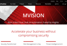 McAfee MVISION